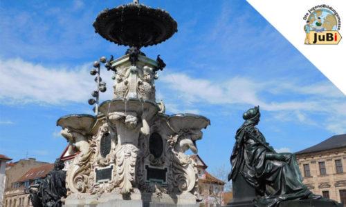 Springbrunnen in Erlangen