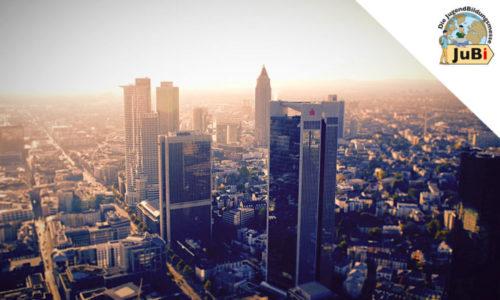 Blick auf Frankfurt von Oben