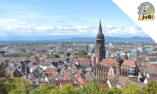 Stadt-Überblick Freiburg