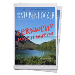 weltweiser · Nix für Stubenhocker · Zeitung · Cover 2019