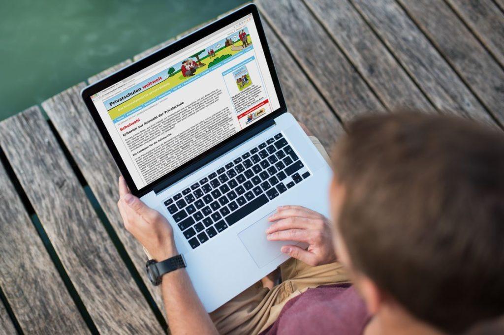 weltweiser · Privatschulen weltweit · Websites