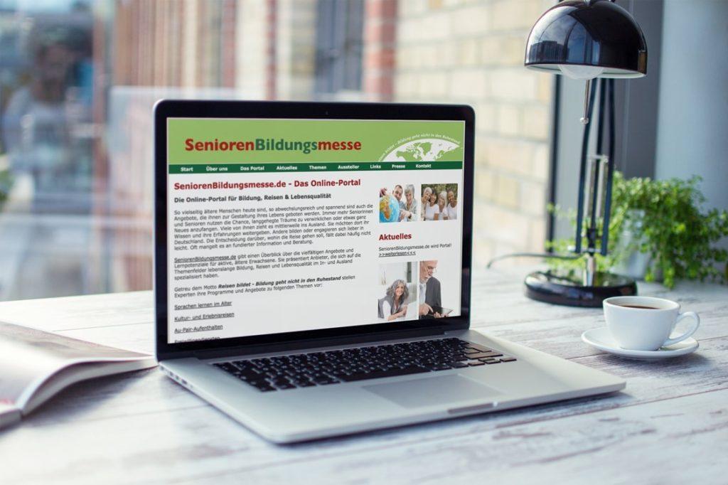 weltweiser · Senioren Bildungsmesse · Websites