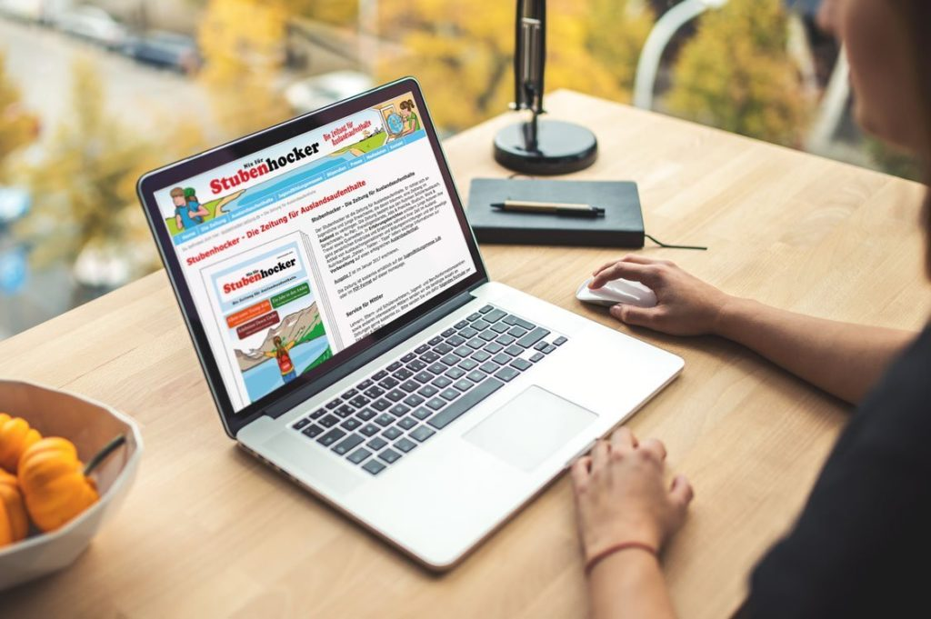 weltweiser · Nix für Stubenhocker – Die Zeitung · Websites