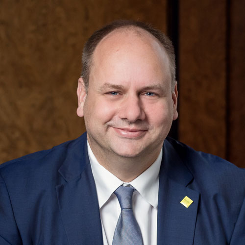 Oberbürgermeister der Stadt Dresden Dirk Hilbert - Schirmherr JuBi Dresden