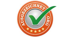 Augezeichnet.org Logo