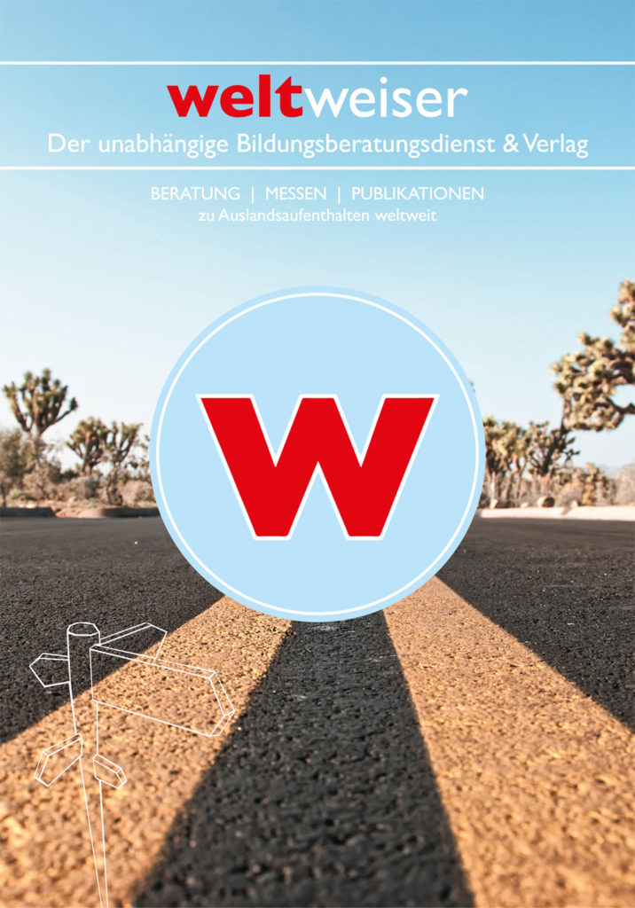 weltweiser-Broschüre Titelbild
