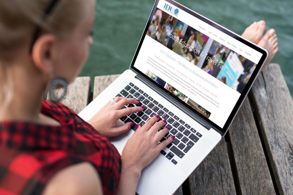 weltweiser · Youth Education Travel Fair Österreich · Websites
