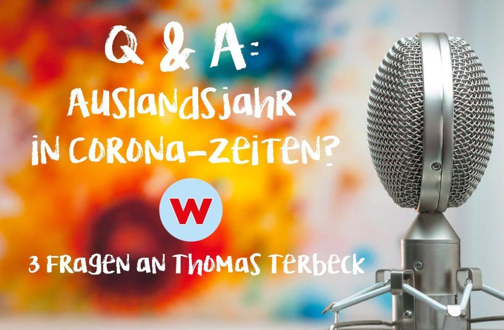 Q&A: Auslandsjahr in Corona-Zeiten?