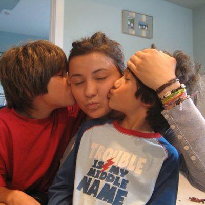 weltweiser · Au-Pair-Mädchen mit Kindern