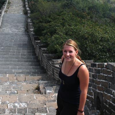 weltweiser · Besuch der Chinesischen Mauer