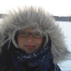 weltweiser · In der schwedischen Schneelandschaft