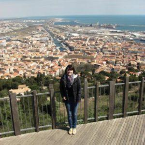 weltweiser · Aussichtsplattform in Montpellier