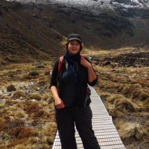 weltweiser · Reisende am Wandern in den Bergen