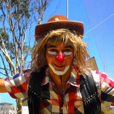 weltweiser · Arbeit als Clown im Zirkus