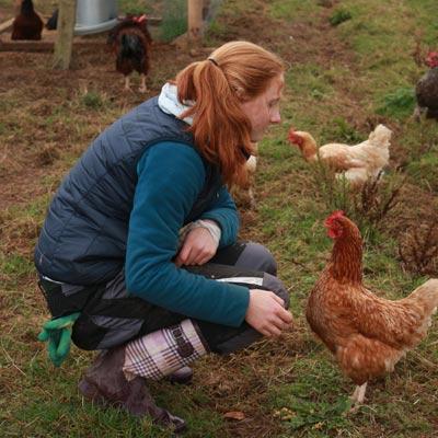 weltweiser · WWOOFing im Hühnerstall