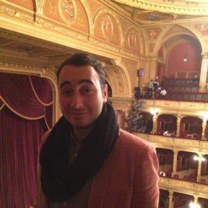 Student in der Oper
