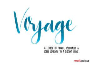 weltweiser · JugendBildungsmesse · Voyage · Postkarte