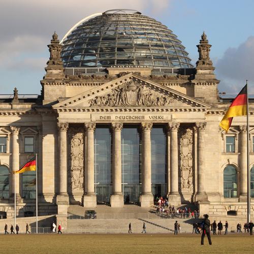 weltweiser · Bundestagsgebäude