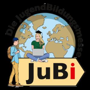 weltweiser · JugendBildungsmesse · JuBi · Logo