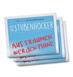 Weltweiser Zeitung für Auslandsaufenthalte Nix für Stubenhocker