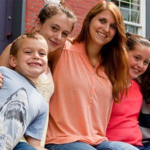 Au Pair mit drei Kindern