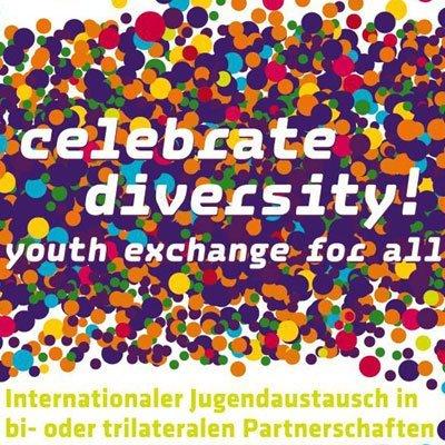 Logo zum Internationalen Jugendaustausch in bi- oder trilateralen Partnerschaften