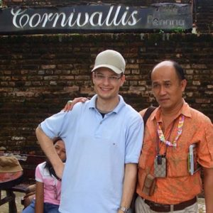 Jugendlicher als Praktikant in Malaysia
