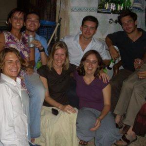 Gruppenfoto von Teilnehmern einer Sprachschule
