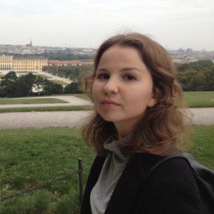 Praktikantin in Wien